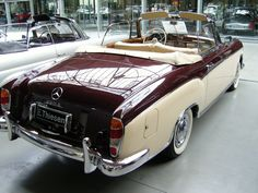 Mercedes Benz 220 S Cabriolet @bayernernst-Flicker