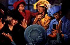 Crowns of Glory: Lift Him Up by Henry Battle   black art | black church - gma - 2