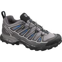 The sleek look of the X Ultra 2 GTX® indicates the speed with which you'll conquer every trail. With running shoe technology mated to a lightweight, protective upper and a Gore-Tex® waterproof membrane this lightweight hiker likes to move fast all year long.Benefits:• Stability: Taken from our most stable running shoes, the Advanced Chassis delivers stability and support on rugged terrain. • Lightweight: With a sleek design and lightweight materials, this nimble boot keeps you on you...
