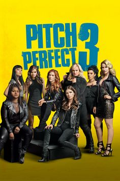 Pitch Perfect 3 - Now graduated from college and out in the real world where it takes more than a cappella to get by, all the Bellas return in the final chapter in the . Brittany Snow, Streaming Hd, Streaming Movies, Anna Kendrick, Hindi Movies, Comedy Movies, Comedy Music, Pitch Perfect 3 Movie, The Hit Girls