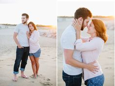 Cape Henlopen State Park Engagement Pictures - Natalie Franke Photography