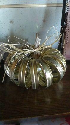 : Canning Lid Pumpkin