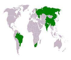 #BRIC reage de maneira positiva à #crise econômica internacional