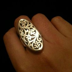 Sterling Silver Lois Hill Ring As Seen On SOA Sterling silver Lois Hill Saddle ring. This ring was worn by Katy Sagal who plays Gemma Teller on FX's Sons of Anarchy in seasons 5 & 6. Size 8US. Lois Hill Jewelry Rings