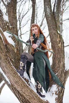 The Hobbit Tauriel Cosplay http://geekxgirls.com/article.php?ID=1382