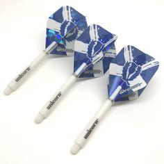 5 sets of Blue DART STEMS Strong Nylon Plastic SHORT LENGTH Darts SHAFTS