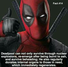 Deadpool is awesome like that