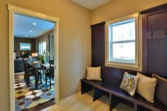 Gallery - Creative Homes. Amazing mudroom in one of our homes in the neighborhood Liberty West, located in Stillwater Minnesota.