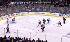 In the second overtime, it was Alec Martinez with the trophy-clinching goal for the Kings. | The L.A. Kings Just Won The Stanley Cup