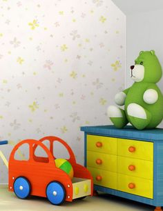 Butterfly wallpaper is delicate, soft and peaceful but can also be bright and fun. Red And Grey, Pink Grey, Paint Effects, Butterfly Wallpaper, Motif Design, Toy Chest, Lime, Delicate, Vibrant
