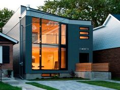 Znalezione obrazy dla zapytania contemporary small house design