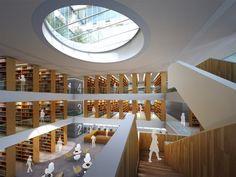 Tsinghua Law Library Building, Beijing / China by Kokaistudios