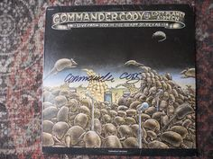 COMMANDER CODY-LIVE FROM DEEP IN THE HEART OF TEXAS- AUTOGRAPHED-COMMANDER CODY