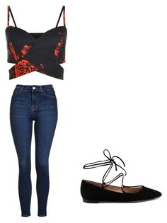 """""""Untitled #12"""" by joselynromero-1 on Polyvore featuring Topshop and Gianvito Rossi"""