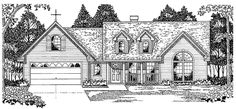 Eplans Country House Plan - Savor Views and Sunshine - 1579 Square Feet and 3 Bedrooms from Eplans - House Plan Code HWEPL12121