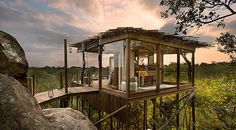 Übernachte hoch in den Bäumen - ein einmaliges Erlebnis Flying Spaces, Beautiful Hotels, Beautiful Places, Amazing Hotels, Resorts, Luxury Tree Houses, Sand Game, Treehouse Hotel, Treehouse Ideas