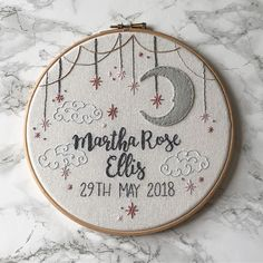 Awesome Most Popular Embroidery Patterns Ideas. Most Popular Embroidery Patterns Ideas. Baby Embroidery, Hand Embroidery Stitches, Embroidery Hoop Art, Hand Embroidery Designs, Cross Stitch Embroidery, Embroidery Ideas, Embroidery Sampler, Hand Stitching, Cross Stitch Baby