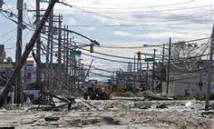 Sandy devastation - Route 35