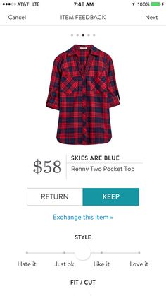 Skies Are Blue Renny Two Pocket Top. I love Stitch Fix! A personalized styling service and it's amazing!! Simply fill out a style profile with sizing and preferences. Then your very own stylist selects 5 pieces to send to you to try out at home. Keep what you love and return what you don't. Only a $20 fee which is also applied to anything you keep. Plus, if you keep all 5 pieces you get 25% off! Free shipping both ways. Schedule your first fix using the link below! #stitchfix @stitchfix…