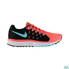 sale retailer 0507d 23371 Nike Zoom Vomero 9 Sneakers in Hyper Punch Black Hyper Turquoise as seen on  Shay Mitchell