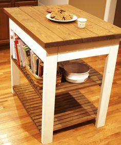 Ted's Woodworking Plans - Build Your Own Butcher Block Kitchen Island Get A  Lifetime Of Project Ideas & Inspiration! Step By Step Woodworking Plans