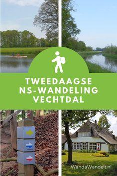 De tweedaagse NS-wandeling Vechtdal volgt twee etappes van het Vechtdalpad. Het is een afwisselende wandeling van Mariënberg via Ommen naar Dalfsen. #wandawandelt #vechtdaloverijssel #visitoost #wandeleninnederland #wandelen