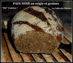 PAIN NOIR au seigle et graines