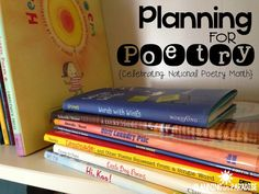 Planning for Poetry: Celebrating National Poetry Month! (Planning In Paradise Blog)