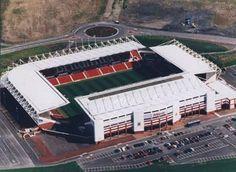Britannia Stadium- Stoke on Trent ........the home of Stoke City.....the home of football