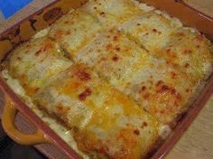 Best recipes in world: CHICKEN ALFREDO LASAGNA ROLLS