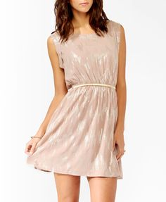 OMG shiny. And flowy. Might be too much for work, but I would love to rock it anyhow.
