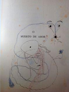 Dibujo de Federico García lorca