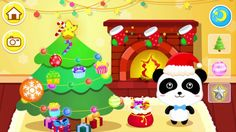 "Baby Panda Games For Kids - Merry Christmas by ""BabyBus Kids Games"""