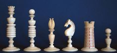 Antique English Chess Sets, 1750 – 1850