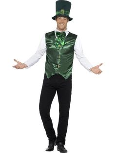 6f8466471d536 Lucky Lad - St Patricks Day Fancy Dress Costume from The Hen Party Store    More