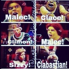 hahaha! I love this!<<< Who ever ships Clabastian should get their head checked.