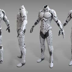 'Chaser' High polygon for MMORPG Queensblade project.