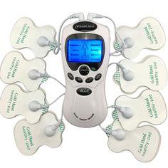 TIENTALLEN Body Gezonde zorg Digitale meridiaan therapie massager machine Slim Afslanken Muscle Relax Vet Brander pijn nieuwe 2*4 pads massage