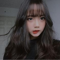 Image may contain: 1 person, selfie and closeup Pretty Korean Girls, Korean Beauty Girls, Cute Korean Girl, Cute Asian Girls, Beautiful Asian Girls, Cute Girls, Asian Cute, Japonese Girl, Korean Girl Photo