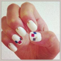 Today's my nail. 2013/2/9