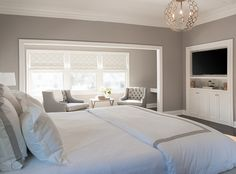 Benjamin Moore San Antonio Gray Bedroom Walls Wall Colors Grey