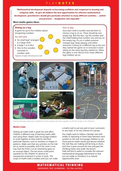The Outdoor Mathematician: Early Years Outdoors Learning – Natural Playground İdeas Preschool Games, Math Games, Learning Activities, Teaching Resources, Math For Kids, Fun Math, Learning Stories Examples, Outdoor Learning Spaces, Outdoor Education