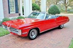 prova275:    Grand Prix… 1967 Pontiac convertible in Regimental Red(only year for the convertible)