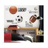 Found it at Wayfair - Studio Designs All Star Sports Saying Wall Decal