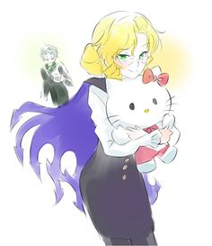Glynda Goodwitch, being adorable!?