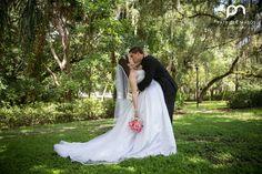 Affordable wedding photographer Orlando Florida vendors outdoors Dickson Azalea Park