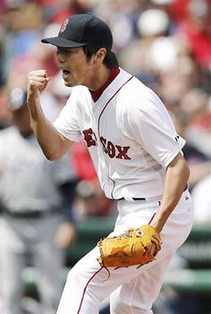 Koji Uehara (Boston Red Sox) He is so funny