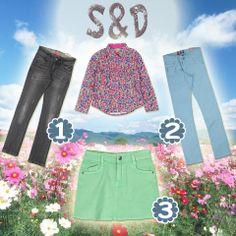 S&D ile kış soğuklarında çiçekler açacak! Peki siz çiçek motifli gömleğin altına hangisini alırdınız?