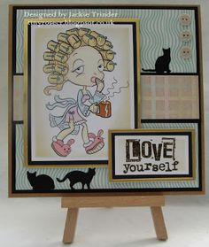Tinyrose's Craft Room: Not Just Cards - Challenge 24 Digi image from Alicia Bel