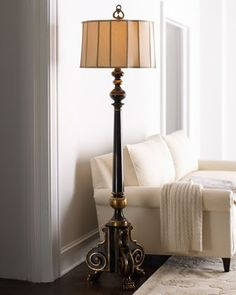 John Richards Old World Collection Floor Lamp Horchow Lamp Shades